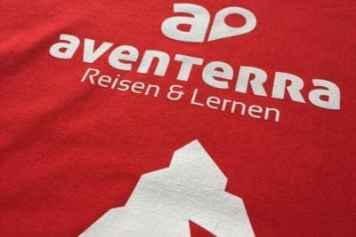 Aventerra Logo Druck